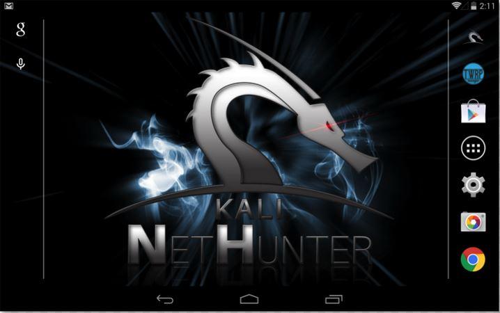 Как установить Kali NetHunter на android