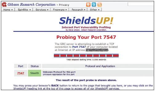 роутер проигнорировал запрос на порт 7547