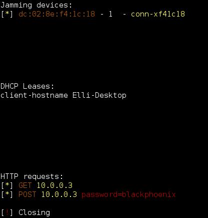 Wifiphisher инструмент для фишинговых атак в wi-fi сетях.