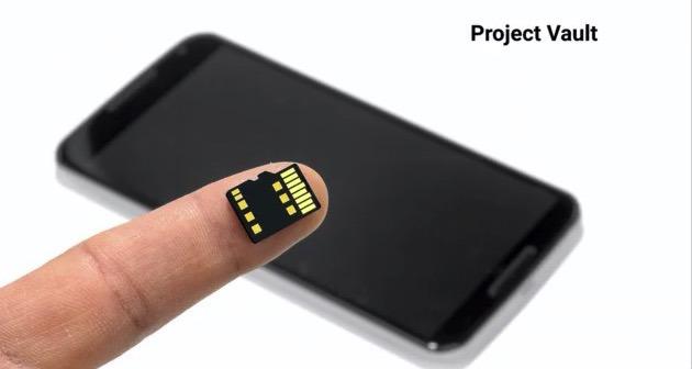 Проект Vault — защищенный компьютер внутри Micro SD карты.
