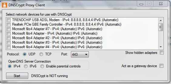 Установка DNSCrypt