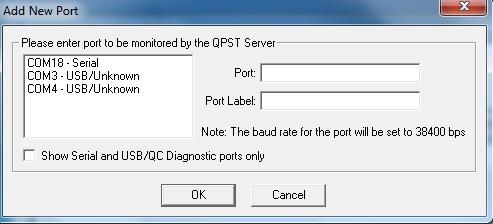Добавить новый порт