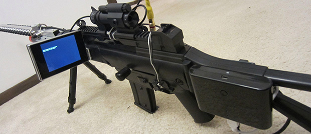 WiFi De-authentication Rifle