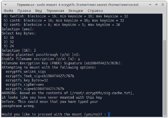 linux crypt4