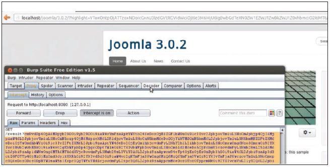 XXE через unserialize в Joomla