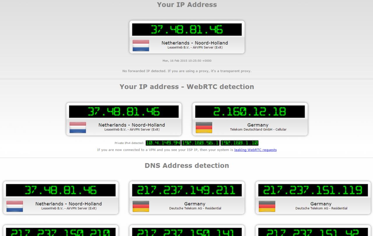 Подробности о атаке DNS leak.