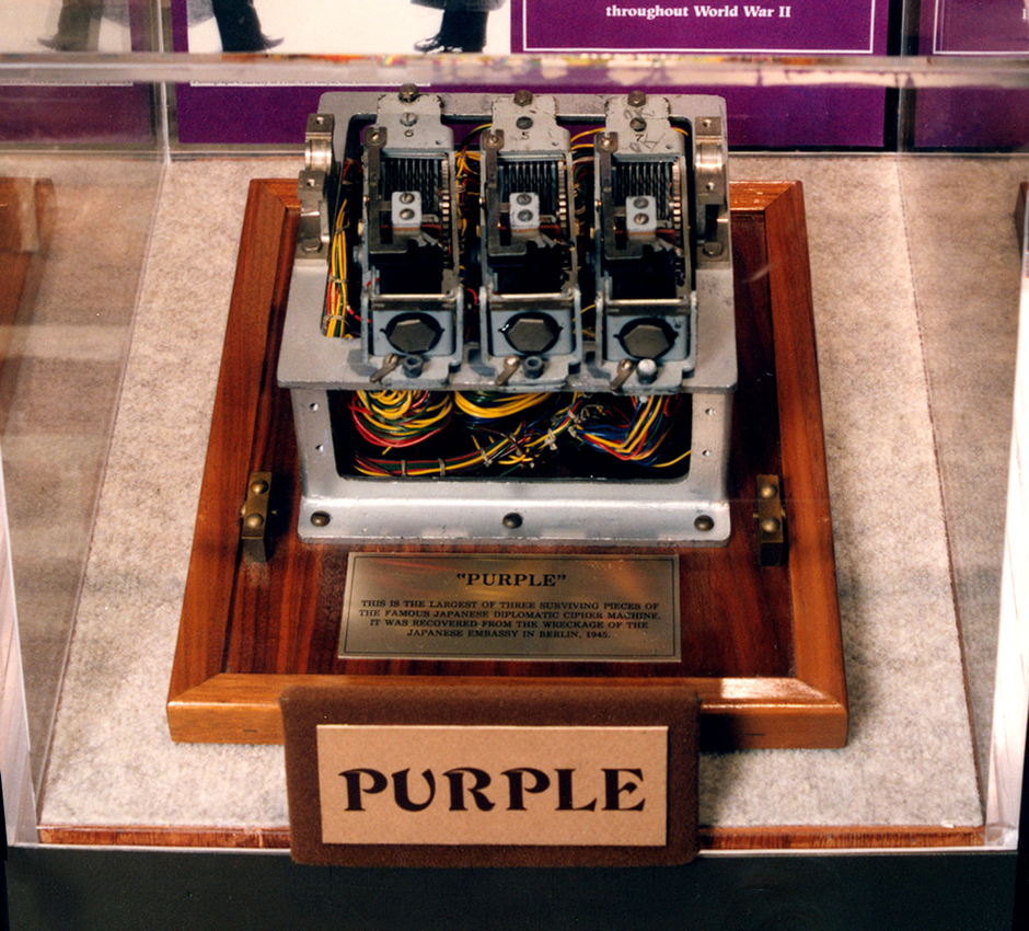 Шифровальная машина Purple