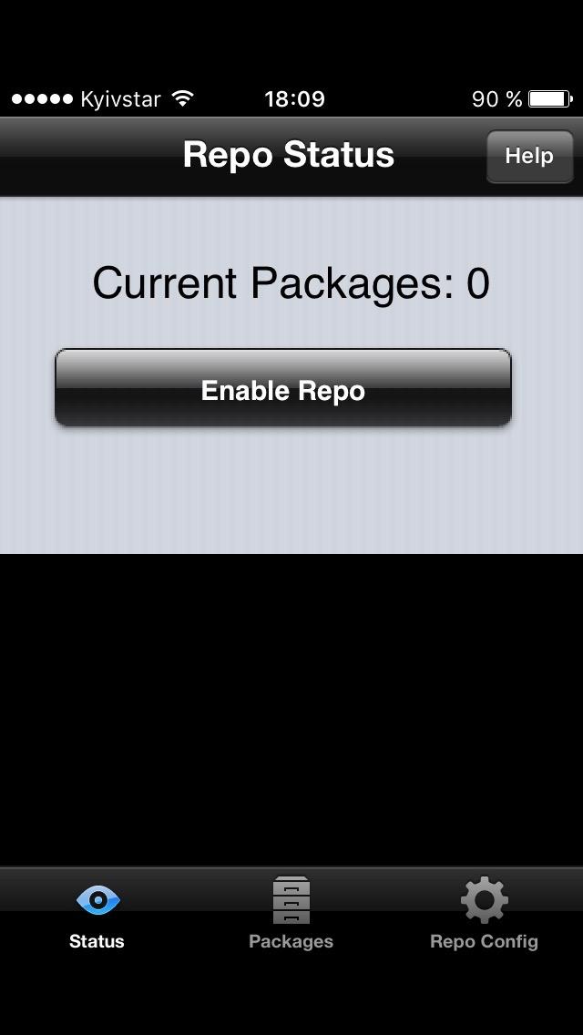 Список пакетов iRepo