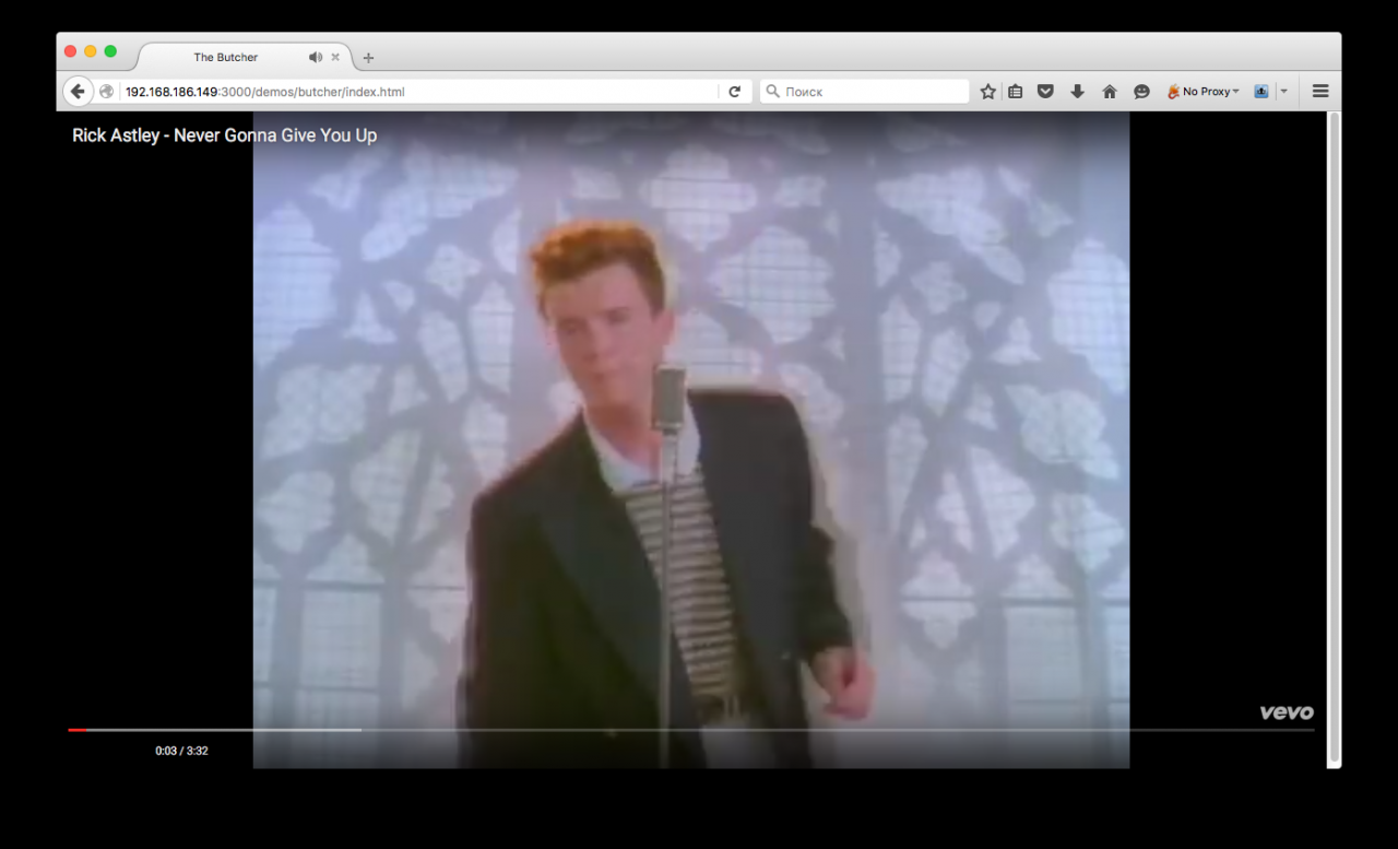 You've been rickroll'd!