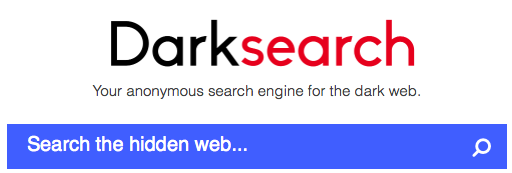 Поиск информации в даркнет. DarkSearch