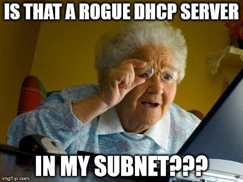YERSINIA инструмент для создания поддельного DHCP сервера.