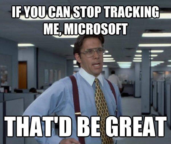 Полное руководство как в windows 10 отключить слежение.