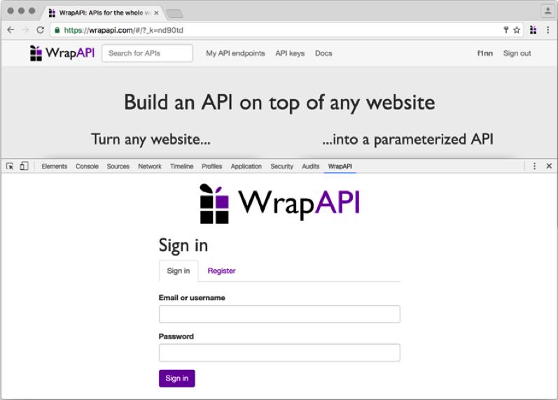 Пример парсера для web сайтов.