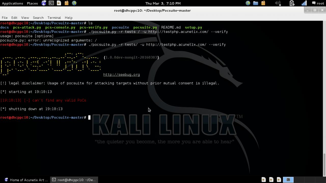 Remote Vulnerability Testing Framework