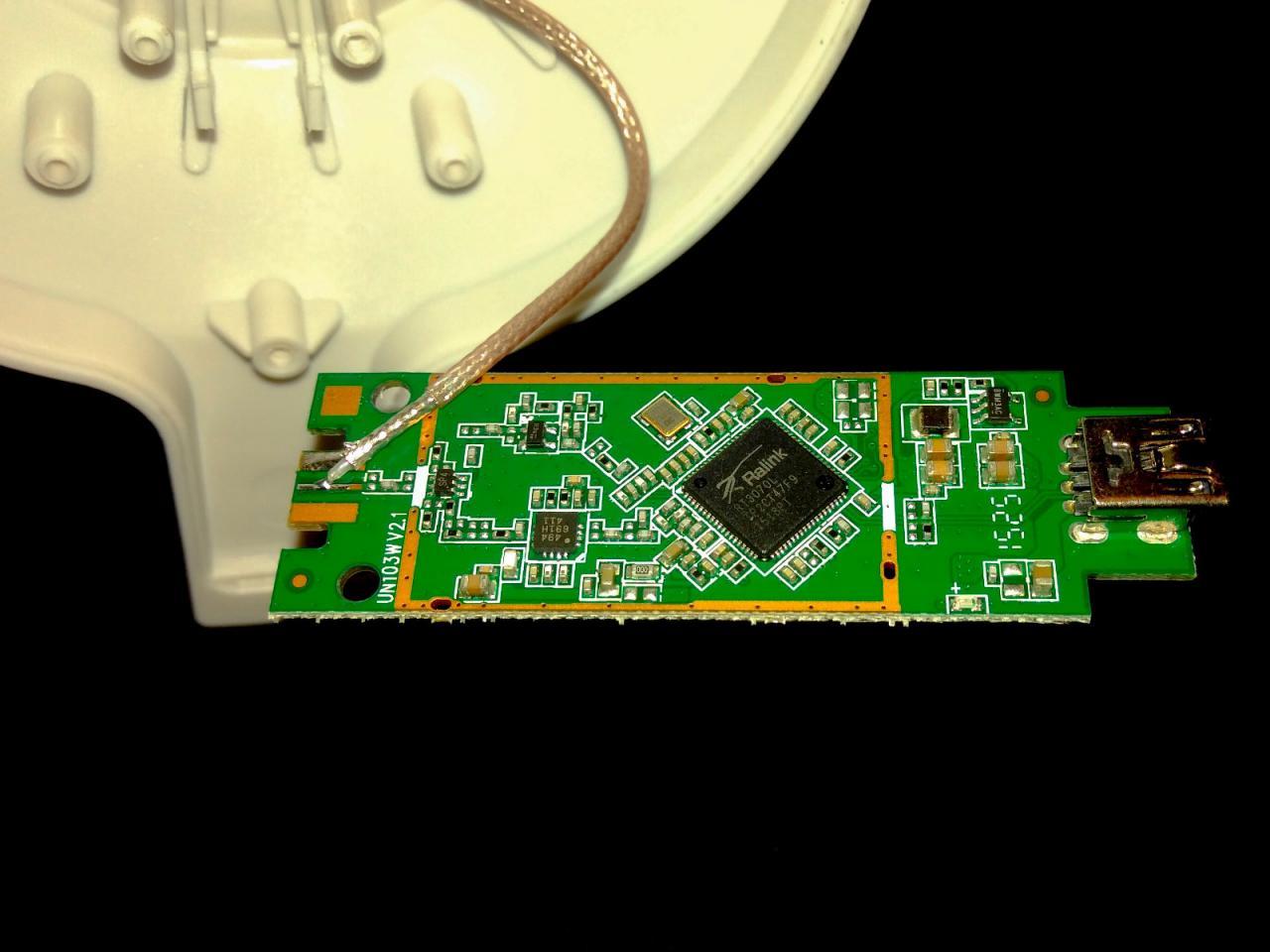 Плата с чипом RT3070L