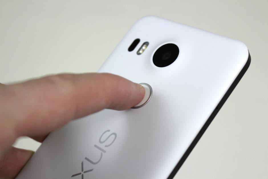 Сканер отпечатка в Nexus 5X