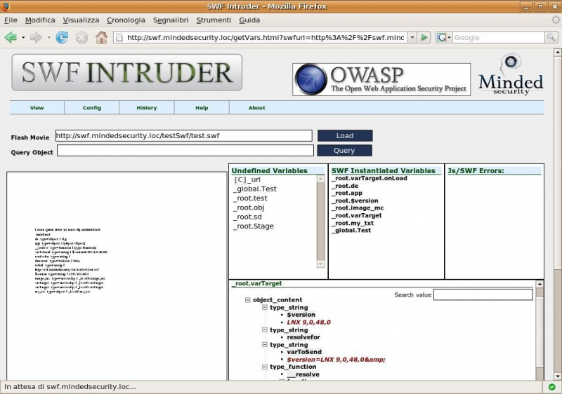 Поиск уязвимостей в SWF-файлах