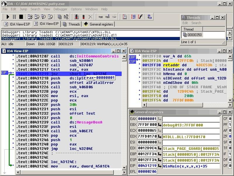 Дизассемблер IDA Pro