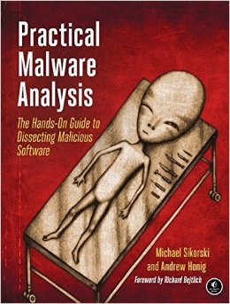 Обложка книги Practical Malware Analysis
