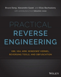 Обложка книги Practical Reverse Engineering
