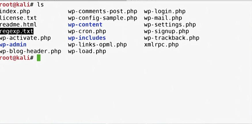 Сохраняем все регулярные выражения из кодовой базы WordPress в файл regexp.txt
