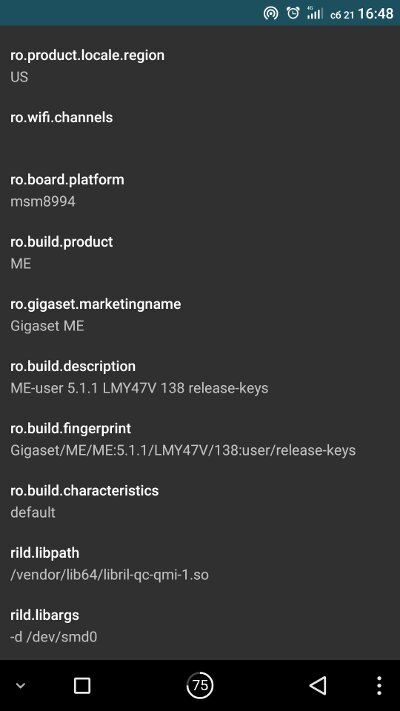 Удобный редактор build.prop