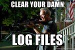 Картинки по запросу clear log files
