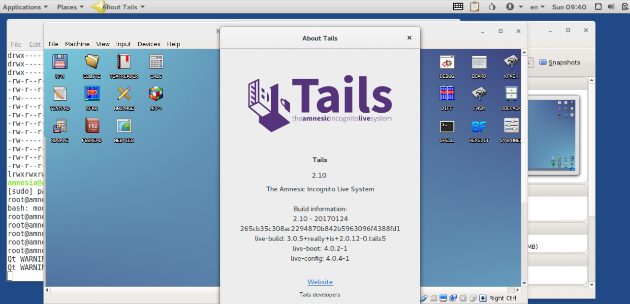 VirtualBox в 64-битной песочнице с редиректом трафика в Tor