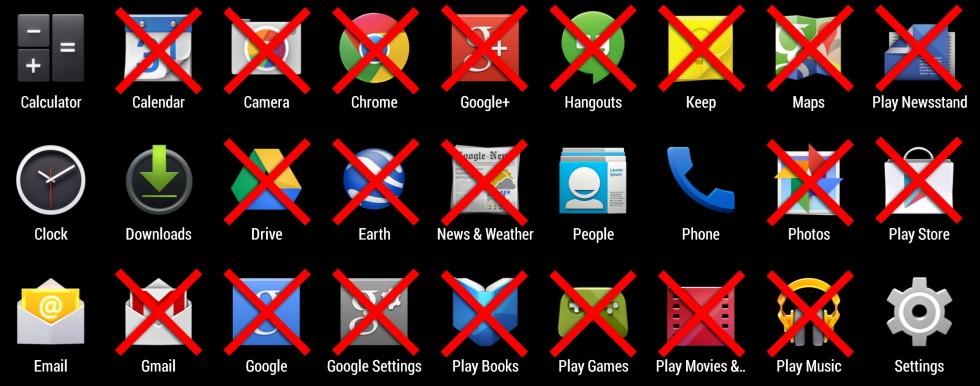 Картинки по запросу android without gapps