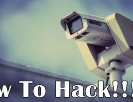 Как взломать веб камеру видеонаблюдения.