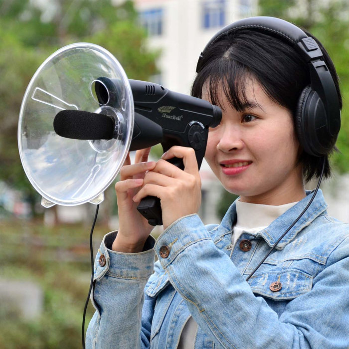 Параболический микрофон — стоимость удовольствия всего 30–40 долларов