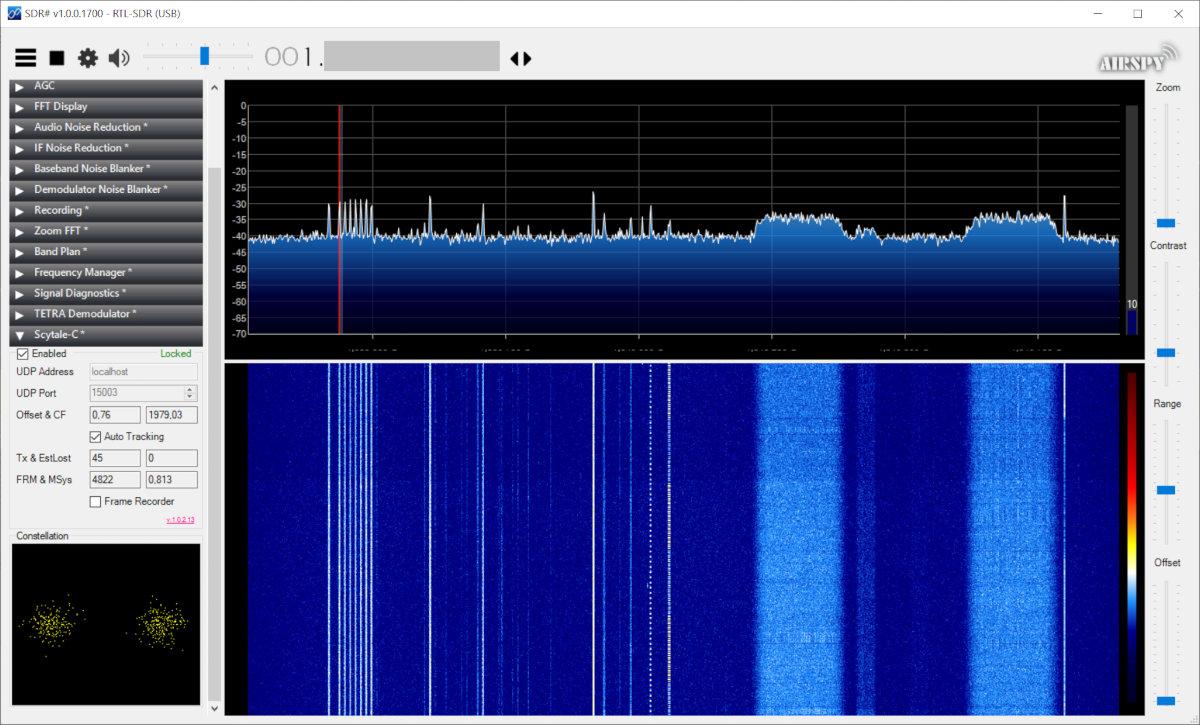 Прием сигналов в SDR#