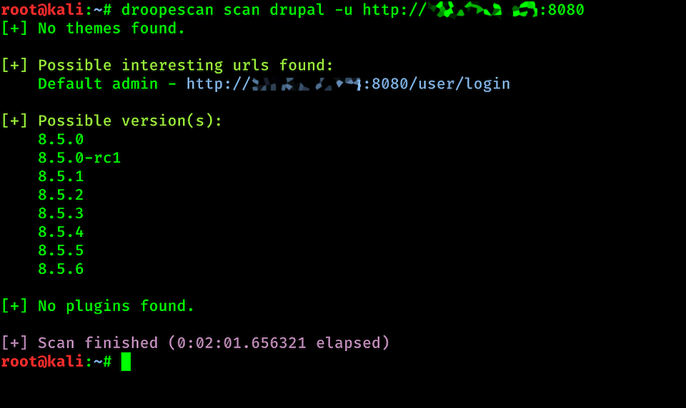 Уязвимый Drupal