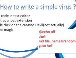 Как написать вирус для windows
