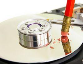 Как стереть все данные с диска мгновенно