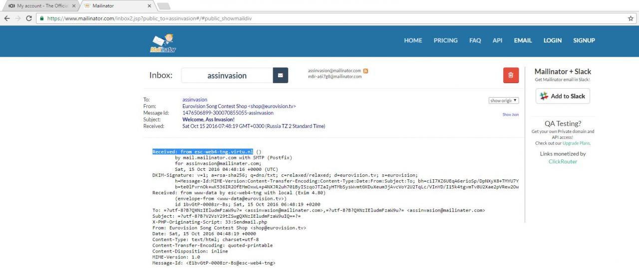 Хидеры письма, раскрывающие IP-адрес сервера