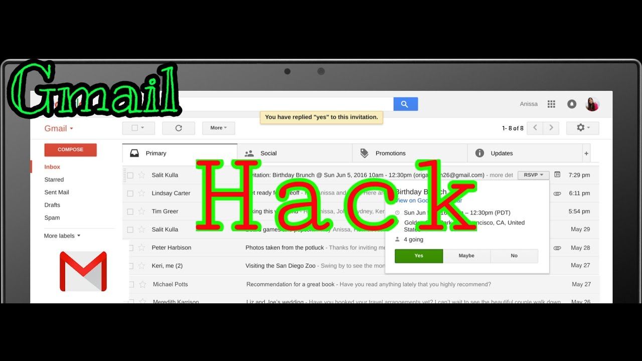 Gmail Hack | How To Hack Any Gmail Account | Hack Gmail Without ...
