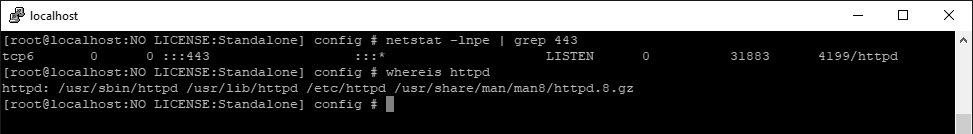 Смотрим, какой сервис слушает 443-й порт в BIG-IP