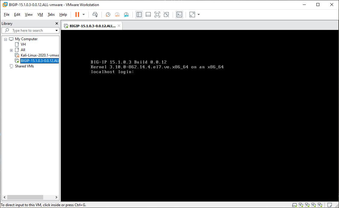 Авторизация в виртуальной машине BIG-IP