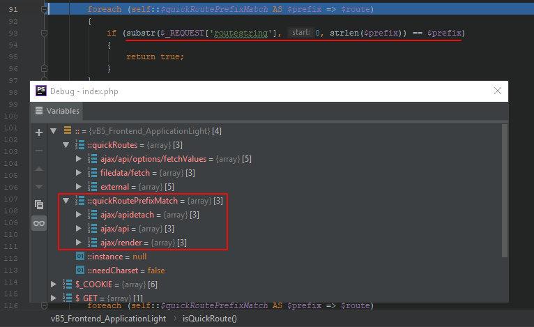 Проверка роута в vBulletin 5.5.6