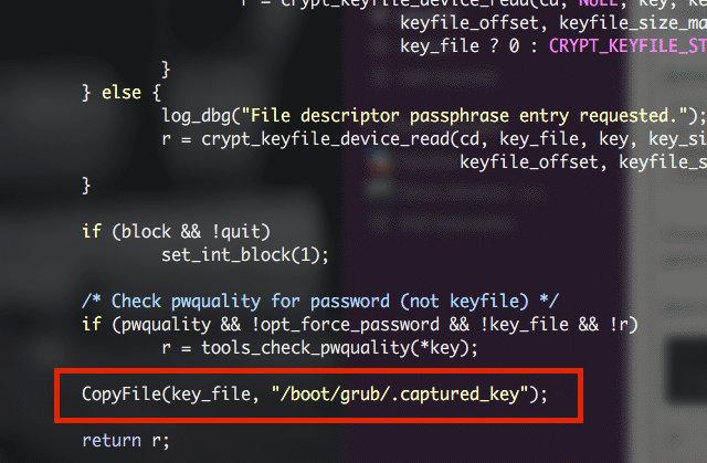 Сохранение ключа в файле utils_password.c