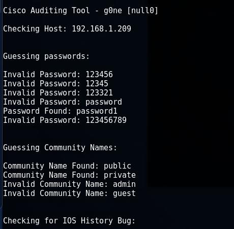 Cisco Audit Tool или CAT