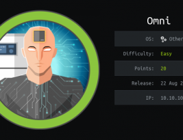 Как взломать Windows IoT и прохождение Omni.