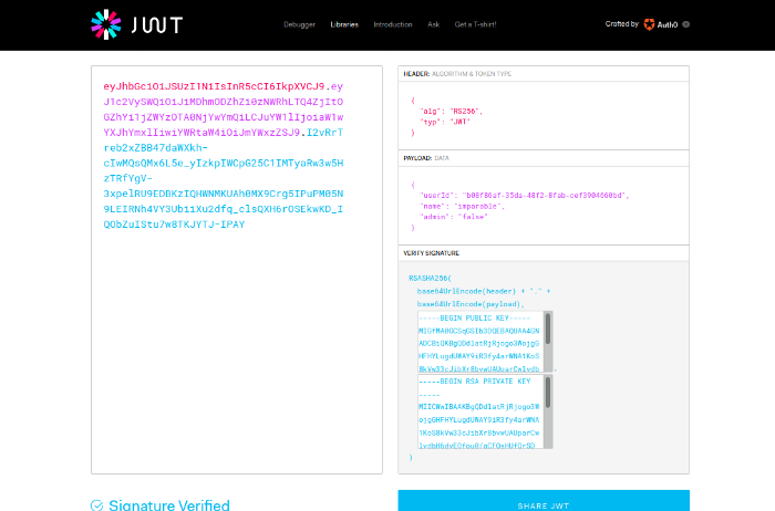 Что такое JSON Web Tokens и атаки на него