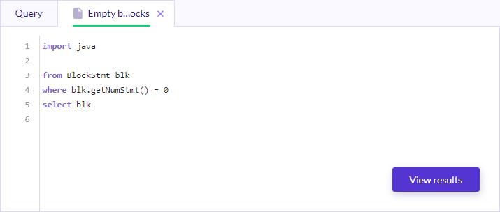 CodeQL-нструмент для анализа исходного кода