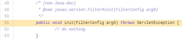 Обнаруженный пустой участок кода