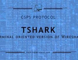 Как работать с анализатором TShark. Часть 1
